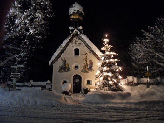 Klaiser Kapelle im Winter
