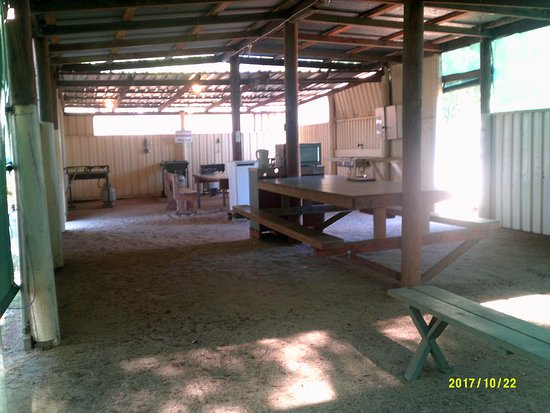 Finley, Australia: Camp Kitchen