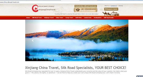 Silk Road: xinjiang china travel Co.,Ltd