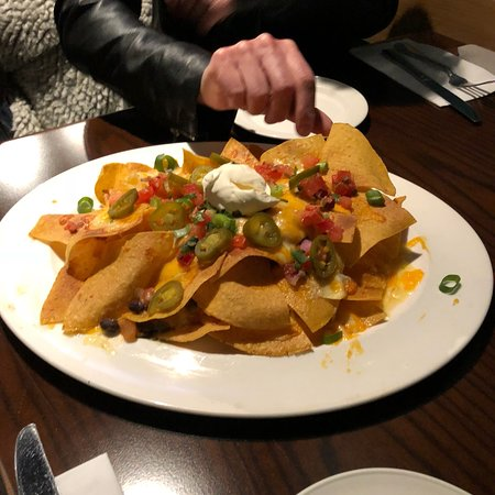 Hard Rock Cafe Antwerp: Spare ribs nachos en het café