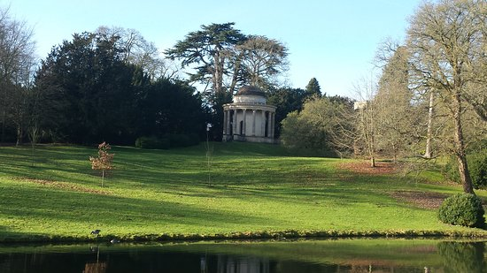 Stowe, UK: One of many garden structures