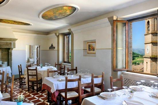 Montemaggiore al Metauro, Italy: Sala Ristorante