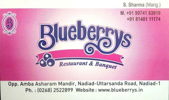 Blueberrys Restaurant