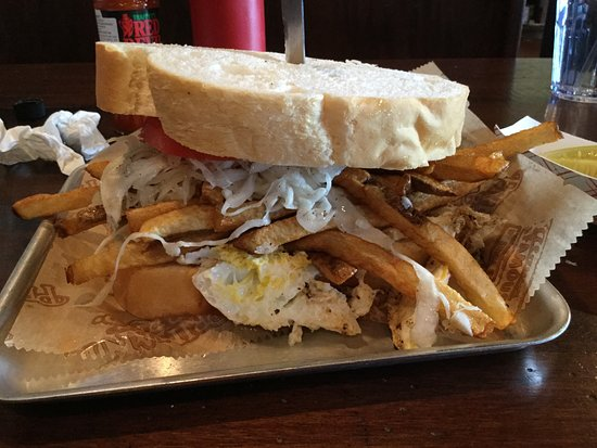 Monroeville, PA: The best brunch sandwich ever!