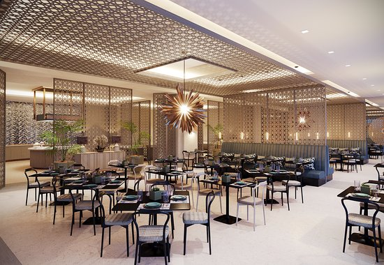 The Terrace Restaurant Malta at The Westin Dragonara Resort: The newly refurbished Terrace