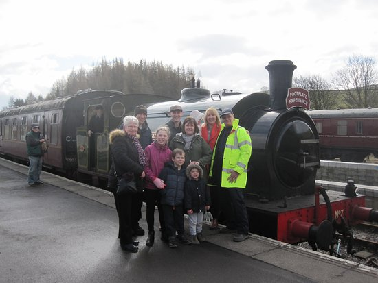 Embsay & Bolton Abbey Steam Railway: The people who bought the experience