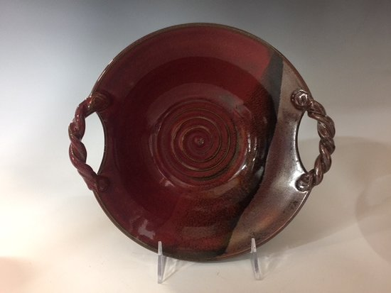Lisle, IL: Nancy Jana Kent, a resident artist, often fires her work in our gas kiln.See her work at our eve