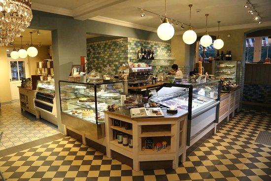 Café Richter   Villa Thusnelda: Kuchen Eis Theke