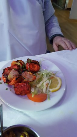 Bengal Spices: fish tandoori starter