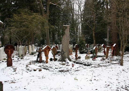 Forest Cemetery - Old part