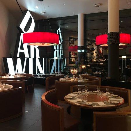 Un restaurant surprenant avec une vue imprenable
