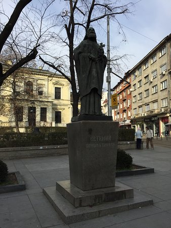 Patriarh Evtimii Statue