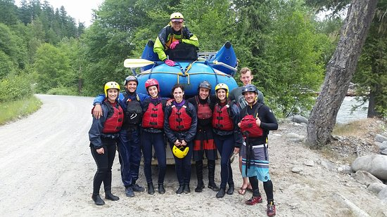 Fraser River Raft Expeditions Foto
