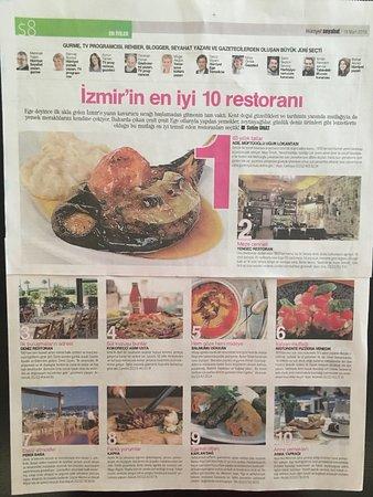 Yengeç Restaurant: Mart 2018 Hürriyet