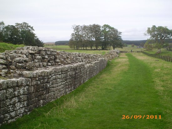 Gretna Green, UK: To think, Roman soldiers walked these walls.