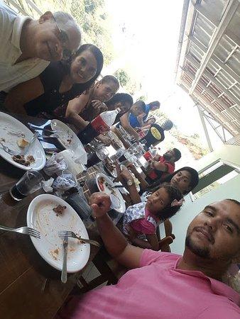 Alem Paraiba: Almoço com a família