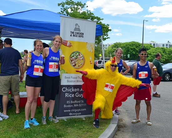 Chicken & Rice Guys: The winners of our Hot Shot 5k!