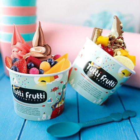 Tutti Frutti Frozen Yogurt Nur Sultan Turan Ave 37 Menu
