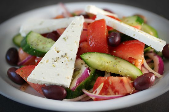 L'Ile-Perrot, Canada:  greek salad