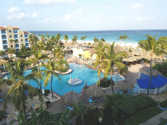 Costa Linda Beach Resort: View from the 5th floor suite
