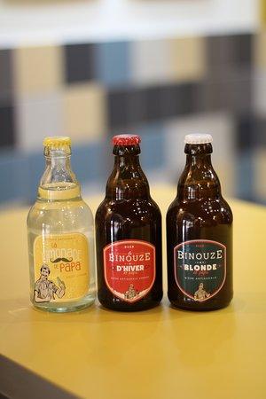 Les Burgers De Papa: Les boissons artisanales de Papa !