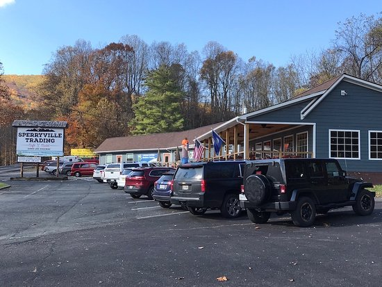 Sperryville, VA: Breakfast and Lunch All-Day.  Seating inside and outside.  Local Craft Beers and Wines available