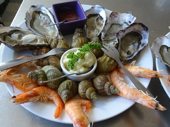 La Gouesniere, Francia: Assiette marine