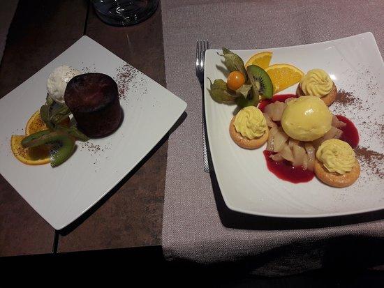 Sassenage, France: Десерты