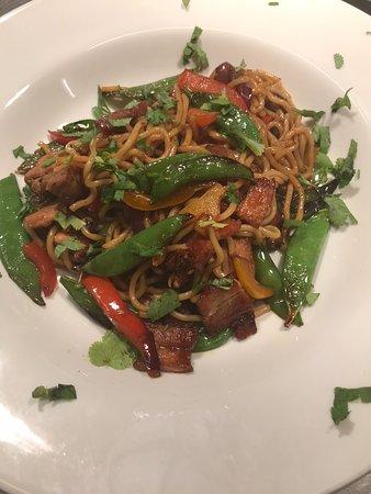 Wigton, UK: Chinese Pork noodle stir fry