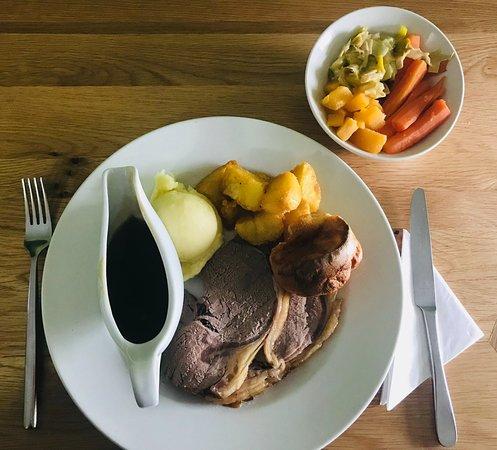 Wigton, UK: Roast Sirloin for Sunday lunch