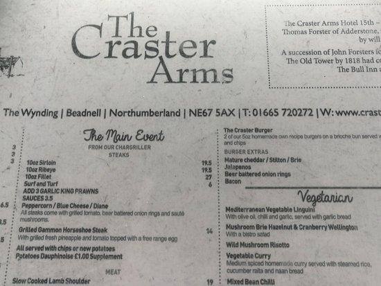 The Craster Arms Restaurant: IMG_20180319_190812_large.jpg