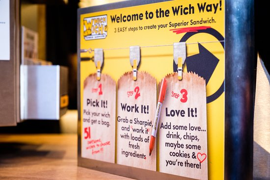 Which Wich Superior Sandwiches: Welcome to the Wich Way