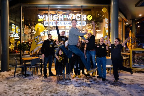 Which Wich Superior Sandwiches: Grand opening event