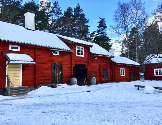 Vallby Friluftsmuseum: Some of the houses