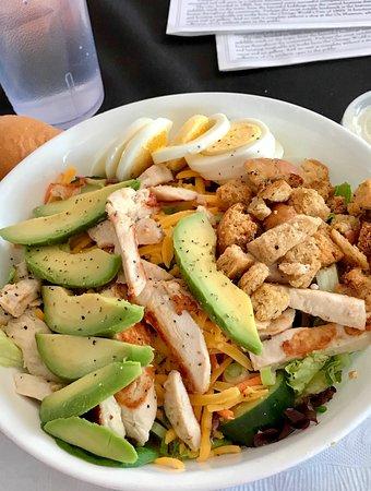 Friendship House: Chicken and avocado Cobb salad