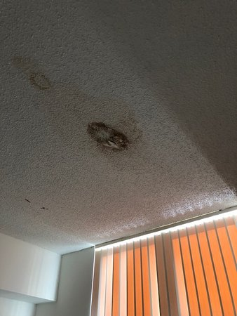 Intracoastal Yacht Club : Hole in 2nd bedroom with mold
