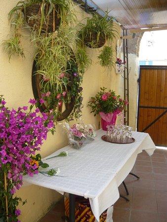 déco terrasse - Bild von Restaurant Le Tamaris, Le Cailar - TripAdvisor