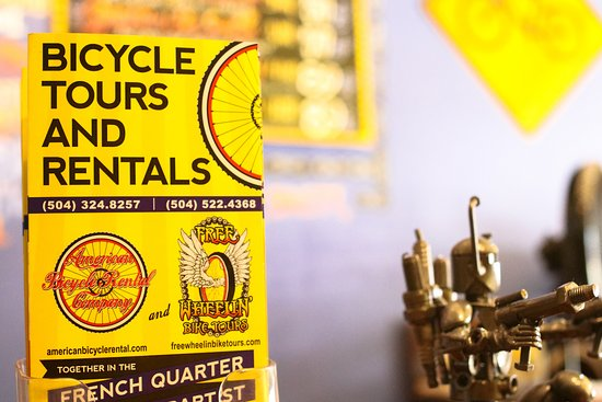 FreeWheelin' Bike Tours: Our Brochure