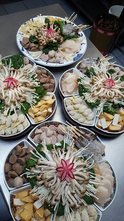 Edegem, Бельгия: chinese fondue