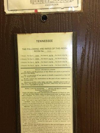 Shelbyville, TN: room 111