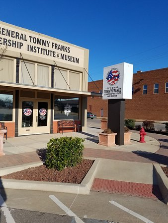 General Tommy Franks Leadership Institute and Museum: Outside for reference.
