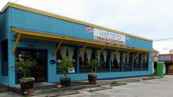 Front Of Entrance To Ketana Thai Restaurant Sushi Bar