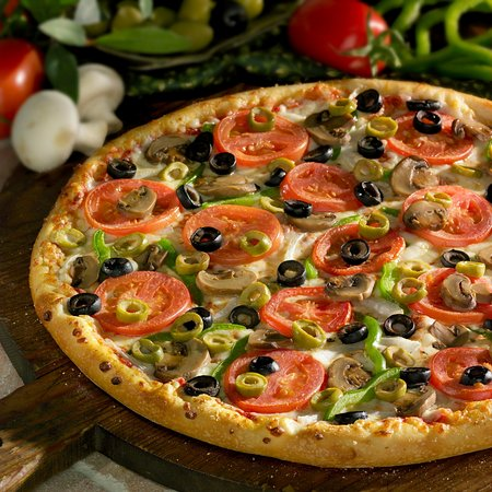 Clearfield, PA: Vege Delite Pizza