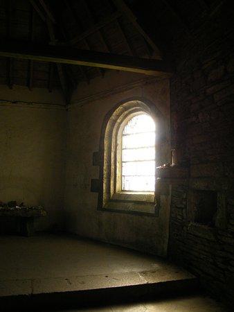 Finistere, Frankrig: Intérieur de la chapelle