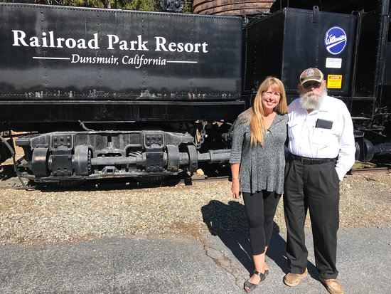 Railroad Park Resort: Rare Willamette Engine
