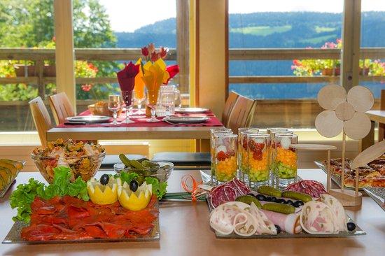 Evasion Tonique Village Vacances : Buffet d'entrée