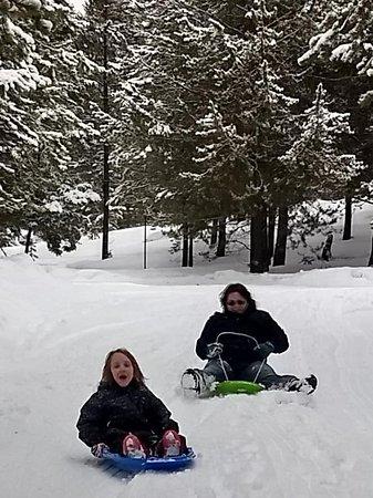 Marion, Монтана: Winter fun
