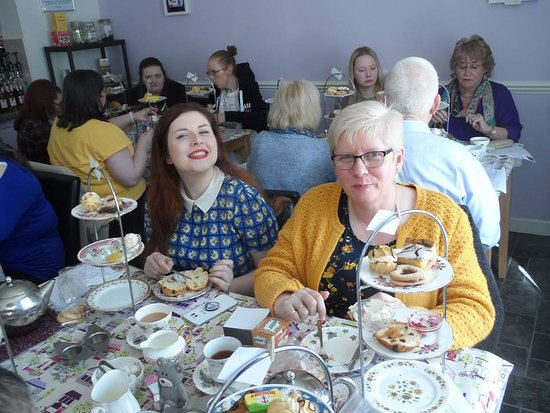 Afternoon Tea at Mother Murphy's Tearoom