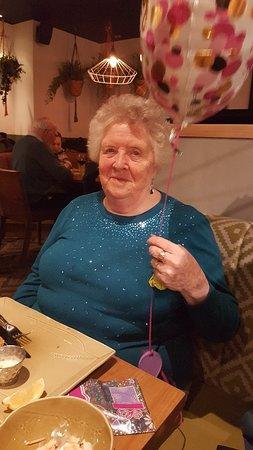 Mum's 85th birthday
