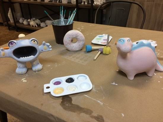 Crafty Painters Studio: Leave them to us for glazing or take them home if you are in a rush!